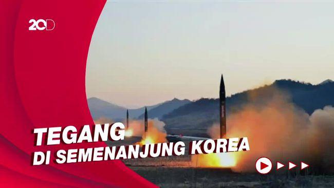 Dua Korea Saling Tembak Rudal, China Minta Menahan Diri