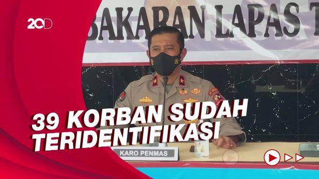 Operasi Identifikasi Korban Kebakaran Lapas Tangerang Berakhir