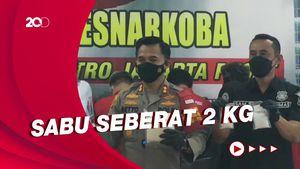 9 Kurir Narkoba Jaringan Malaysia Ditangkap, 20 Kg Sabu Diamankan