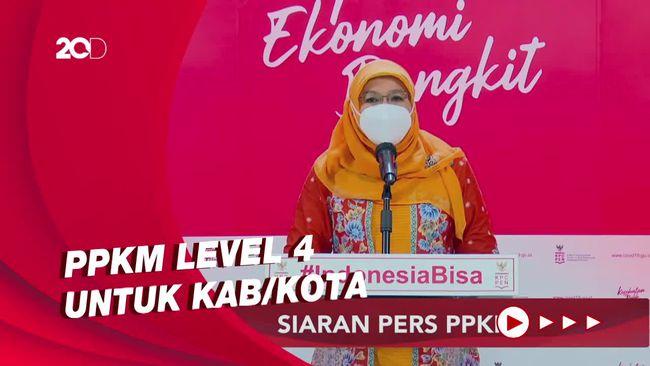 Kini Tidak Ada Provinsi yang Menerapkan PPKM Level 4
