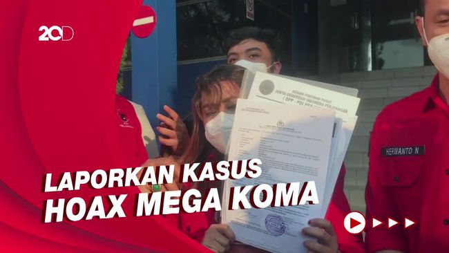 DPD PDIP DKI Datangi Polda Metro, Laporkan Penyebar Hoax Megawati Koma