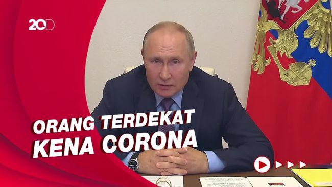 Putin Isolasi Mandiri Usai Kontak Erat dengan Pasien Covid-19