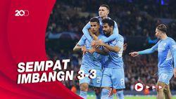 Tampil Perkasa, Man City Lumat RB Leipzig 6-3