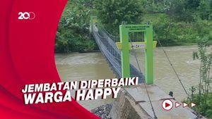 Pernah Viral Jembatan yang Digelantungi Siswa di Sulbar, Apa Kabarnya Kini?