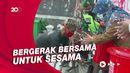 Cara Relawan PMI di Sukabumi Rayakan HUT ke-76
