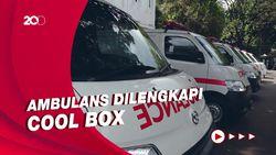 Jangkau Daerah Terisolir, 6 Ambulans Dilengkapi Penyimpan Vaksin