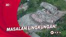 Waduh! Lahan Sampah di Tengah Pemukiman Warga di Tangsel Bikin Resah