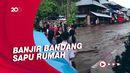 Banjir Bandang Terjang Minahasa Tenggara, 4 Rumah Hanyut!
