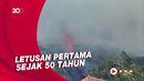 Meletus! Penampakan Semburan Lava Gunung Cumbre Vieja Spanyol