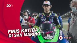 Enea Bastianini Raih Podium Perdananya di Kelas MotoGP