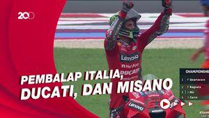 Sempurna! Serba Italia ala Pecco Bagnaia
