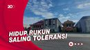 Guyub Rukun, 6 Rumah Ibadah di Surabaya Saling Berdampingan