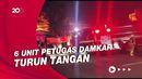 Si Jago Merah Lahap Toko Swalayan di Cilandak Jaksel