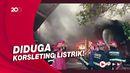 5 Rumah di Padang Ludes Terbakar, 1 Orang Meninggal Terkejut