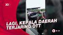 Momen Bupati Koltim Andi Merya Diterbangkan ke Jakarta Usai Terjaring OTT