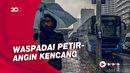 Peringatan BMKG: Beberapa Wilayah Berpotensi Hujan Lebat Hari Ini