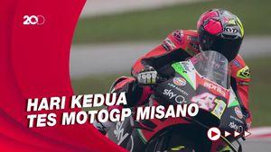 Giliran Aleix Espargaro Tercepat di Tes MotoGP Misano