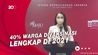 Progres Indonesia Kejar Target WHO soal Capaian Vaksinasi Covid-19