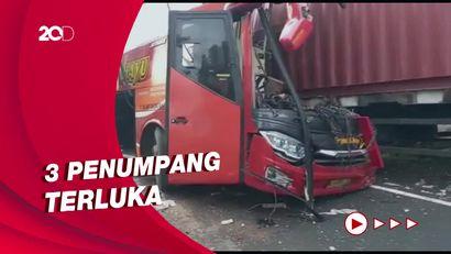 Bus Sugeng Rahayu Tabrak Truk di Kulon Progo, 2 Orang Tewas