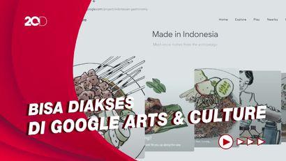 Dengan Teknologi Apik, Google Rangkum Khazanah Kuliner Nusantara