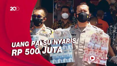 Ini Penampakan Uang Palsu Ratusan Juta yang Digerebek Polisi di Boyolali