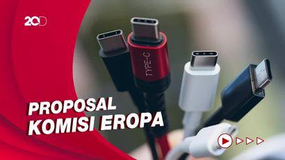 Perangkat Elektronik Daya Kabel Wajib Gunakan USB-C