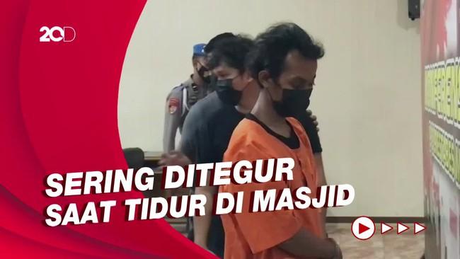 Motif Pelaku Pembakar Mimbar Masjid Raya Makassar: Sakit Hati!