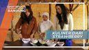 Membuat Strawberry Goreng, Menu Kuliner Unik di Bandung