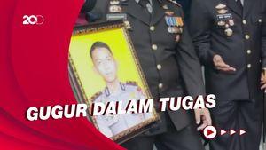 Suasana Pemakaman Bharatu Kurniadi, Brimob Korban Penembakan KKB Papua
