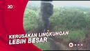 Hampir 2 Pekan Kebakaran Sumur Minyak Ilegal di Jambi Belum Padam