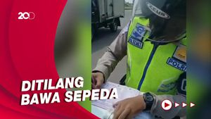 Heboh Pengendara Ditilang Gegara Bawa Sepeda Dalam Mobil