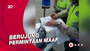 Pasal Salah Polisi Tilang Pengendara Bawa Sepeda dalam Mobil