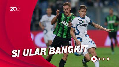 Sassuolo Tumbang, Inter Milan Come Back