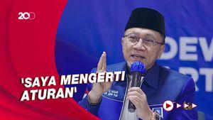 PAN Bakal Masuk Kabinet? Ini Respons Zulkifli Hasan