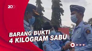 Terlibat Sindikat Narkoba, 5 Pegawai Lapas di Sulteng Dipecat