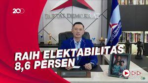 Elektabilitas Naik di Survei SMRC, Demokrat: Ini Kerja Keras AHY