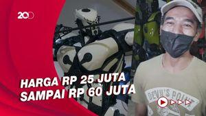Replika Robot dari Onderdil Motor Bikinan Pria Yogya Tembus Pasar China-Jerman