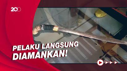 Pria di Sidrap Mengamuk, 2 Buruh Pabrik Terluka Disabet Parang