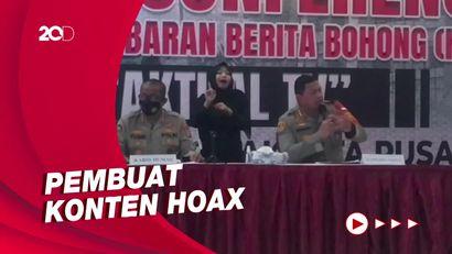 Polisi Tangkap 2 Anak Buah Direktur TV Swasta Pembuat Hoax, Ini Perannya