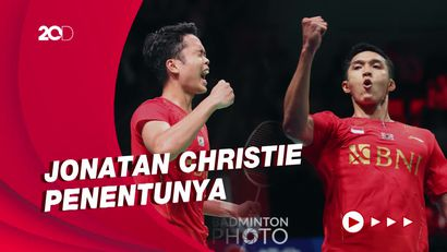 Bungkam Malaysia 3-0, Indonesia ke Semifinal Piala Thomas!