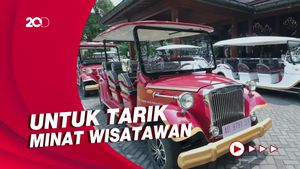 Wujud 8 Mobil Listrik di Solo untuk Wisata Keliling Kota