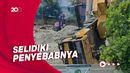 Puslabfor Polri Olah TKP Crane Jatuh di Depok