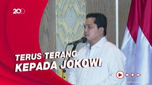 Di Depan Jokowi, Erick Thohir Curhat Jadi Menteri BUMN