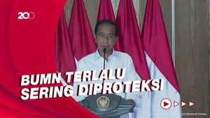 Perintah Jokowi ke Erick Thohir: BUMN Sakit, Tutup Saja!