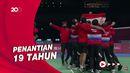Kalahkan China 3-0, Indonesia Jadi Juara Piala Thomas 2020!
