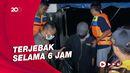 Proses Evakuasi Puluhan Wisatawan yang Terjebak di Danau Jatiluhur