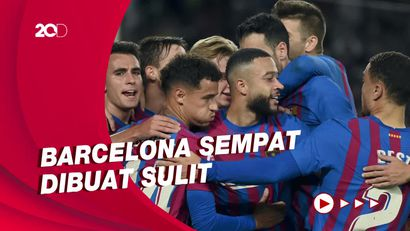 Comeback, Barcelona Hajar Valencia 3-1