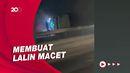 Kecelakaan Beruntun Truk Tangki Kimia-Bus di Tol Tangerang Merak
