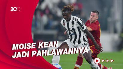 Juventus Tundukkan AS Roma 1-0