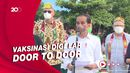 Jokowi Targetkan Akhir Tahun 70% Lebih Penduduk Telah Divaksinasi